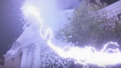 Lightening bolt. Back to the Future
